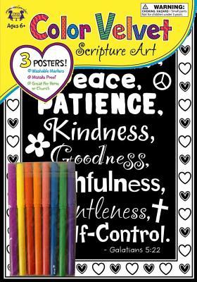Image for Velvet Scripture Art -Galatians 5:22