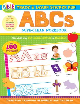 Image for Trace and Learn Sticker Fun: ABC's - Wipe-Clean Workbook