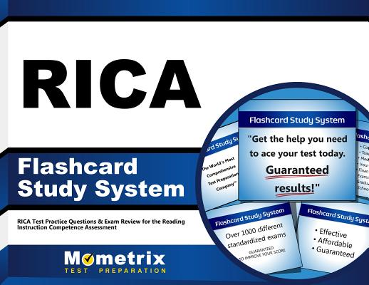 Image for RICA Flashcard Study System: RICA Test Practice Questions & Exam Review for the Reading Instruction Competence Assessment (Cards)