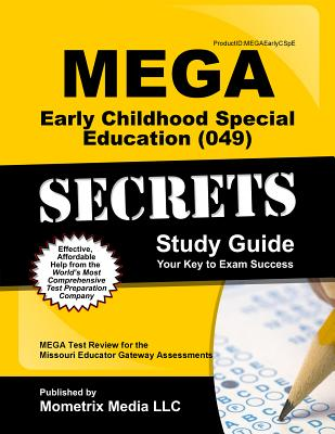Image for MEGA Early Childhood Special Education (049) Secrets Study Guide: MEGA Test Review for the Missouri Educator Gateway Assessments