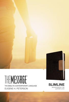 Image for The Message Slimline (Brown/Saddle Tan)
