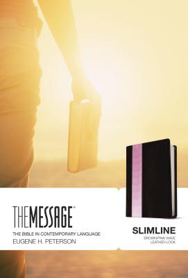 Image for The Message Slimline (Brown/Pink)