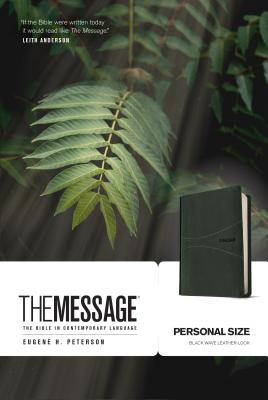 Image for The Message Personal Size (Leather-Look, Black): The Bible in Contemporary Language