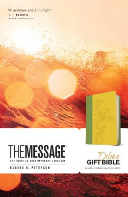 Image for The Message Deluxe Gift Bible: The Bible in Contemporary Language