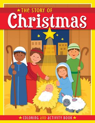 Image for The Story of Christmas: Coloring and Activity Book