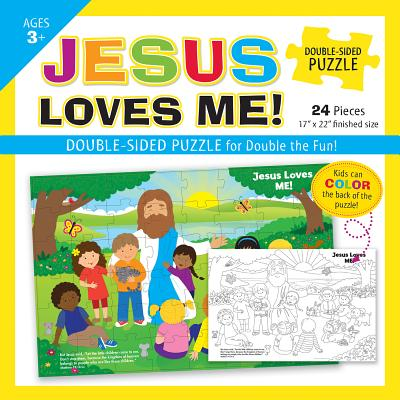 Image for Jesus Loves Me Double-Sided Puzzle