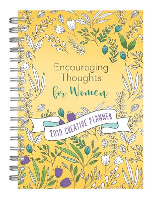 Image for 2019 Creative Planner Encouraging Thoughts for Women