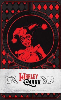Harley Quinn Ruled Pocket Journal (Insights Journals), Manning