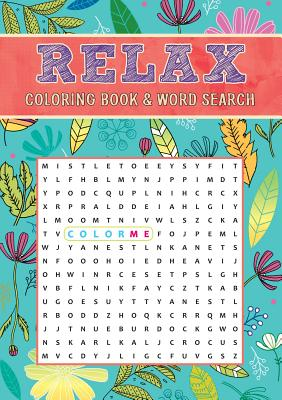Image for Relax Coloring Book & Word Search