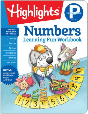 Image for PRESCHOOL NUMBERS LEARNING FUN WORKBOOK