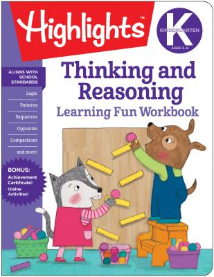 Image for KINDERGARTEN THINKING AND REASONING LEARNING FUN WORKBOOK