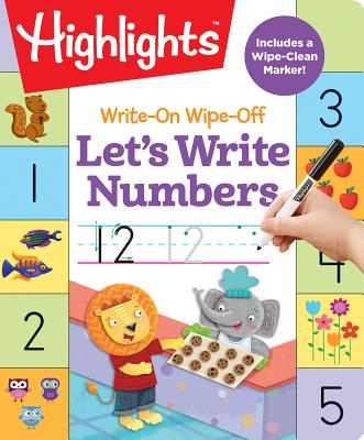 Image for WRITE-ON WIPE-OFF LET'S WRITE NUMBERS