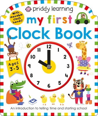 Image for MY FIRST CLOCK BOOK