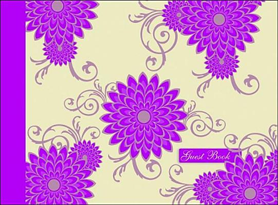 Image for Guest Book - Pink Flower (Spank Stationery)