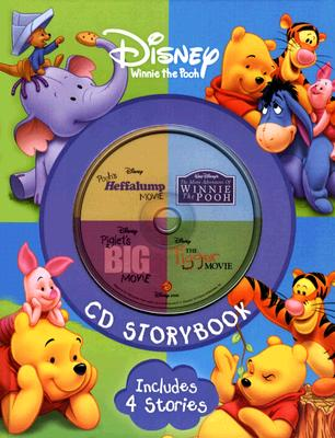 Image for Disney Winnie the Pooh CD Storybook: The Many Adventure of Winnie the Pooh / Piglet's Big Movie / Pooh's Heffalump Movie / The Tigger Movie