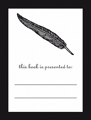 Feather Bookplates 12 Pack