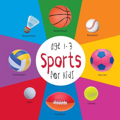 Sports for Kids age 1-3 (Engage Early Readers: Children's Learning Books) with FREE EBOOK, Martin, Dayna