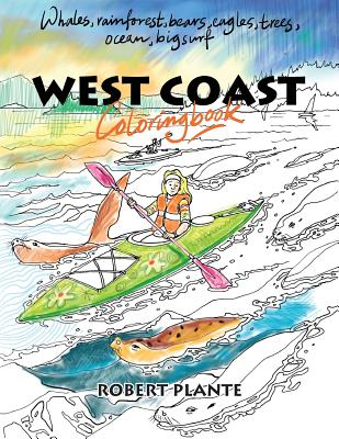 Image for West Coast Coloring Book