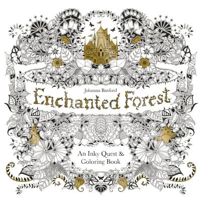 Image for Enchanted Forest: An Inky Quest & Coloring Book