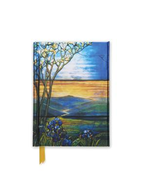 Image for Tiffany Leaded Landscape with Magnolia Tree (Foiled Pocket Journal) (Flame Tree Pocket Books)