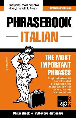 English-Italian phrasebook and 250-word mini dictionary, Taranov, Andrey