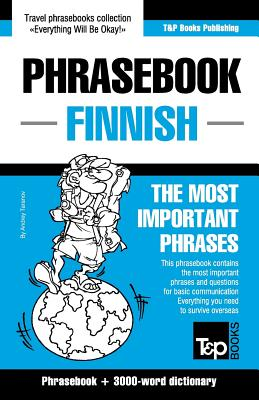 Image for English-Finnish phrasebook and 3000-word topical vocabulary