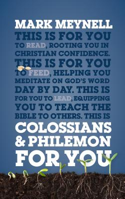 Image for Colossians & Philemon For You (God's Word for You)