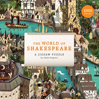 Image for Laurence King Publishing The World of Shakespeare (1000 Piece Jigsaw Puzzle)