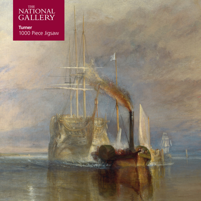 Image for Adult Jigsaw Puzzle National Gallery Turner: Fighting Temeraire: 1000-piece Jigsaw Puzzles (1000-piece jigsaws)