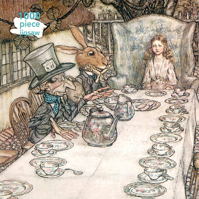 Image for Adult Jigsaw Puzzle Arthur Rackham: Alice in Wonderland Tea Party: 1000-piece Jigsaw Puzzles (1000-piece jigsaws)