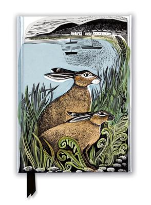 Image for Angela Harding: Rathlin Hares (Foiled Journal) (Flame Tree Notebooks)