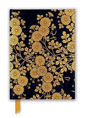 Image for Uematsu Hobi: Box Decorated with Chrysanthemums (Foiled Journal) (Flame Tree Notebooks)
