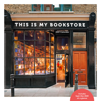 Image for This Is My Bookstore 2021 Wall Calendar: (12-Month Calendar for Book Lovers, Bookshop Photography Monthly Calendar)