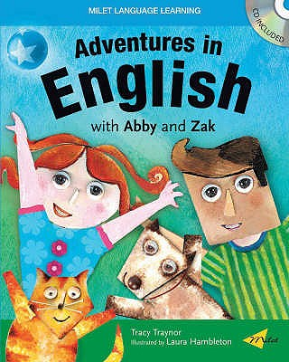 Image for Adventures in English with Abby and Zak