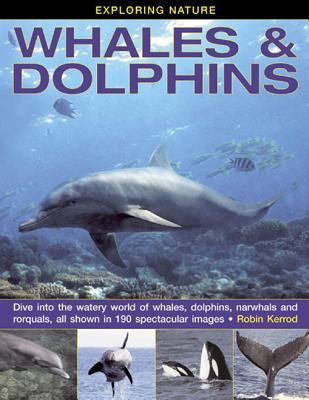 Image for Exploring Nature: Whales & Dolphins: Dive Into the Watery World of Whales, Dolphins, Narwhals and Rorquals, All Shown in 190 Spectacular Images