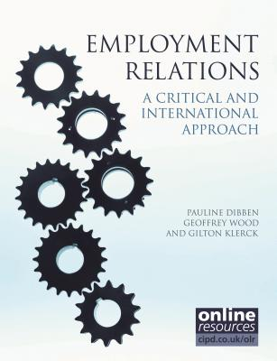 Image for Employment Relations: A Critical and International Approach (Cipd Publications)