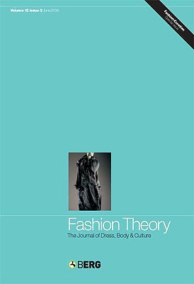 Image for Fashion Theory Volume 12 Issue 4: The Journal of Dress, Body and Culture