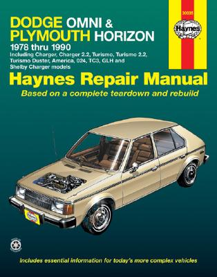 Image for DODGE OMNI & PLYMOUTH HORIZON 1978 & 1990