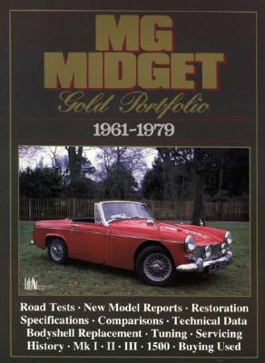 Image for MG Midget Gold Portfolio 1961-1979