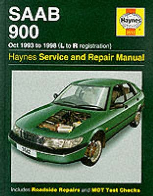 Saab 900 (October 1993-98) Service and Repair Manual (Haynes Service and Repair Manuals), A. K. Legg, Spencer Drayton