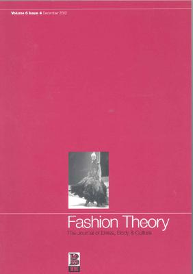 Image for Fashion Theory: Volume 6, Issue 4: The Journal of Dress, Body and Culture (v. 6, Issue 4)