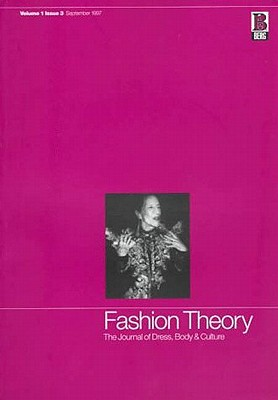 Image for Fashion Theory: Volume 1, Issue 3: The Journal of Dress, Body and Culture