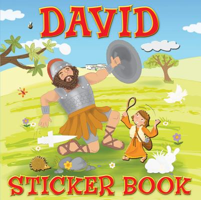 Image for David Sticker Book (Sticker Books)