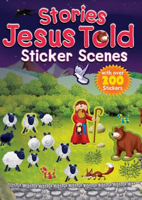 Stories Jesus Told Sticker Scenes, Juliet David