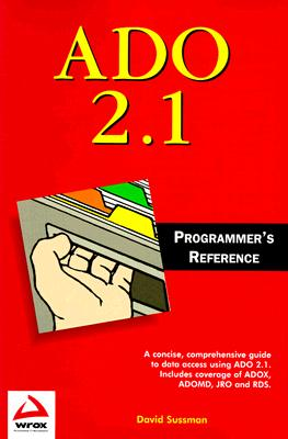 Image for ADO 2.1 Programmer's Reference