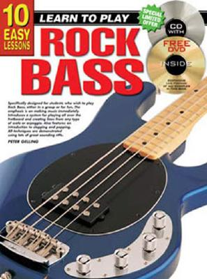 Image for 10 Easy Lessons Rock Bass