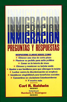 Image for INMIGRACION PREGUNTAS Y RESPUESTAS
