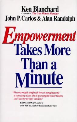 Image for EMPOWERMENT TAKES MORE THAN A MINUTE