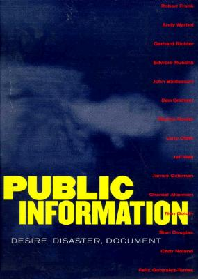 Image for Public Information: Desire, Disaster, Document
