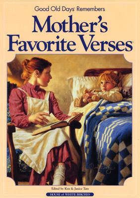 Image for MOTHER'S FAVORITE VERSES  Good Old Days Remembers